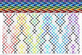 bracelet friendship patterns images Friendship bracelet patterns instructions easy gif