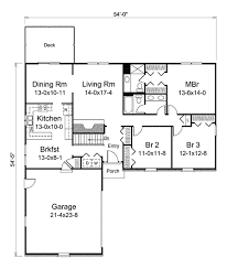 ranch style house plan 3 beds 2 00 baths 1620 sq ft plan 57 553