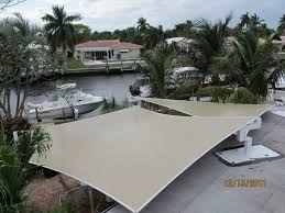 Awnings Fort Lauderdale Sail Shades Sun Sails Gds Canvas And Upholstery