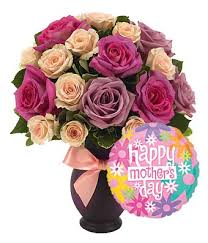 Mothers Day Flowers Mother U0027s Day Roses U0026 Balloon Bouquet At From You Flowers