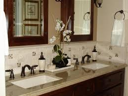 Bathroom Sink  Bathroom Magnificent Backsplash Ideas With Various - Bathroom sink backsplash