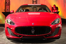 red maserati spyder the gallery u0027 event showcases high end cars at 2014 detroit show