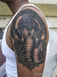 Ganesha Tattoo On Shoulder | ganesha tattoo on shoulder tattoo designs tattoo pictures