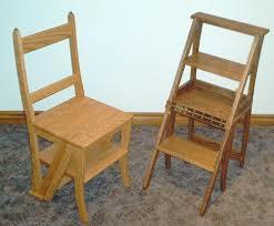 fabriquer une table pliante old chair stepstools wood chaise escabeau step stool chair