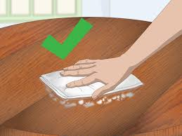 Removing Wax Buildup From Laminate Floors 4 Ways To Dewax A Table Wikihow