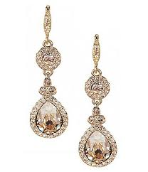 wedding earrings drop bridal wedding earrings dillards