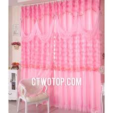Lace Curtains And Valances Princess Dreamy Beautiful Pink Kids And Girls Room Lace Curtains