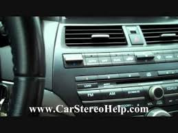 2009 honda accord bluetooth honda accord bose car audio car stereo removal 2008 2012