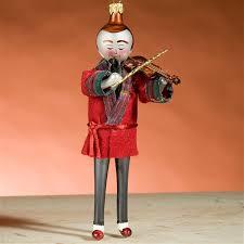 de carlini ltd ed sherlock holmes playing violin christmas