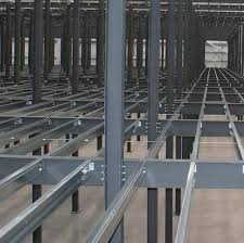 prefab beam galvanized steel with symmetrical section for