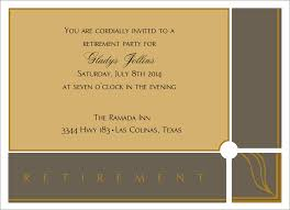 retirement announcement retirement invitation announcement