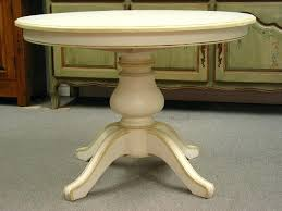 Antique Pedestal Dining Table Somer White Oval Pedestal Dining Room Table Antique Modern Round