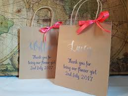 bridal party gift bags personalised bridal party gift bags the personalised