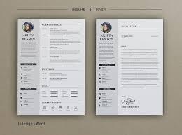 Resume Templates For Indesign 50 Professional Resume U0026 Cv Templates