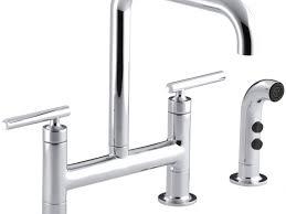 repair kohler kitchen faucet pewter deck mount kohler kitchen faucet parts single handle pull