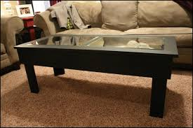 glass shadow box coffee table furniture winning diy wooden crate coffee table lovely shadow box