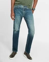Comfort Fit Mens Jeans Slim Straight Dark Wash Eco Friendly 365 Comfort Stretch Jeans