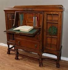 bureau secretaire antique bureau secretaire vintage oak antique vintage bureau