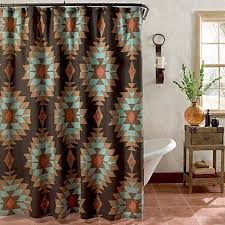 extra brown and red shower curtain 85 aboveshower curtains