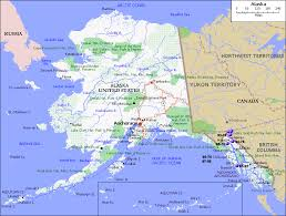united states of america map with alaska and hawaii state of alaska map