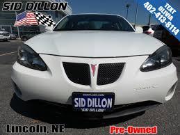 pre owned 2008 pontiac grand prix 4dr sdn 4 door sedan in lincoln