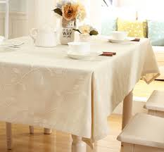 Coffee Table Cover by Details About Trendy Cotton Linen Embroidered Tablecloth Wedding