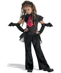 Vampiress Halloween Costumes Bat Kids Vampire Halloween Costume Girls Costume