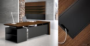 Black Desk Office Executive Desks Directors Desks Spaceist Designer Furniture Uk