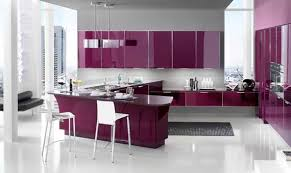 Purple Kitchen Design Romantic And Feminine Pink Kitchen Design Ideas From Stosa Company