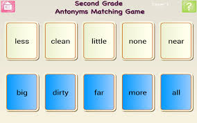 Antonym For Comfort Second Grade Antonyms Android Apps On Google Play
