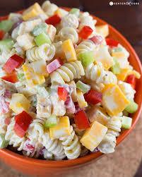 pasta salad recipes cold creamy cheddar pasta salad recipe