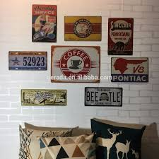 discount home decor custom vintage tin signs buy vintage tin