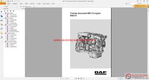 daf truck trainee document mx 13 engine en210 auto repair manual