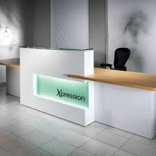 Stone Reception Desk China Acrylic Solid Surface Stone Commercial Reception Desk For