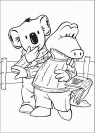 the koala brothers coloring pages