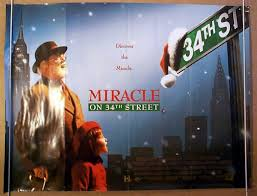Miracle On 34th by Miracle On 34th Street Original Cinema Movie Poster From