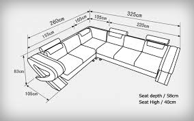 canapé d angle dimension canapé d angle en cuir italien design et pas cher modèle vérone
