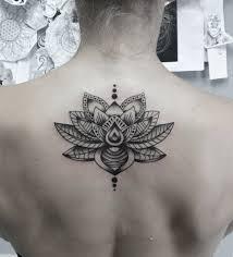 tattoo mandala lotus blackwork a keyvan israel done at tribal