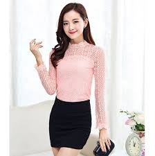 cheap pink lace blouse find pink lace blouse deals on line at