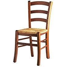chaise en bois et paille amazon fr chaises assise paille 1 étoile plus