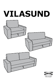 VILASUND  MATTARP Twoseat Sofabed Ramna Beige IKEA United - Sofa bed assembly
