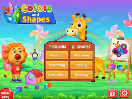 colors u0026 shapes kids learn color and shape android apps on