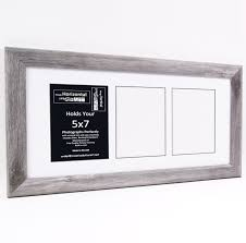 5x7 driftwood picture frames with multi 3 4 5 6 7 8 opening