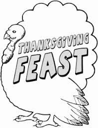 thanksgiving feast clipart 78079