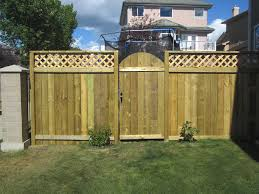 fence u0026 gate construction calgary landscaping company assiniboine