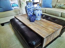 Wooden Trays For Ottomans Coffee Table Large Wooden Tray For Ottoman Design House Plan