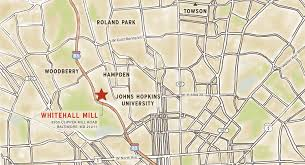 Jhu Campus Map Whitehall Mill Baltimore Md