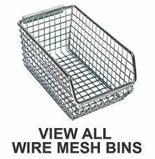 view all wire mesh bins u2013 product spreadsheet u2013 storage systems
