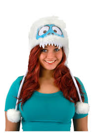 abominable snowman costume bumble hoodie hat