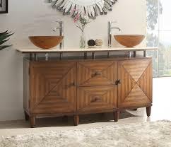 rustic bathroom ideas bathroom wooden varnished cabinet warm color rustic bathroom